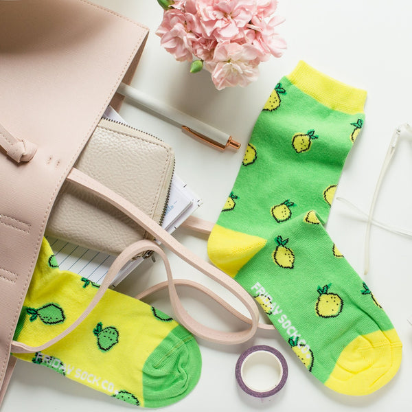 Women's Lemon Lime Socks