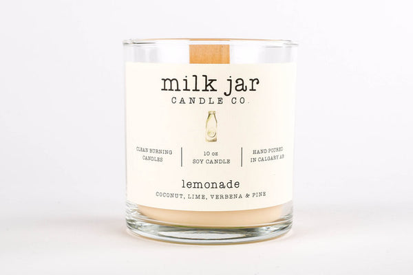 Milk Jar Candles: Original Collection