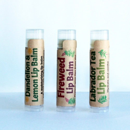 Laughing Lichen - Natural Lip Balms