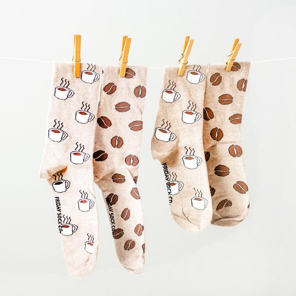 Men's Coffee & Coffee Bean Socks