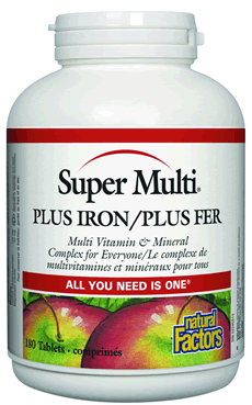 Super Multi® Plus Iron - 90 capsules
