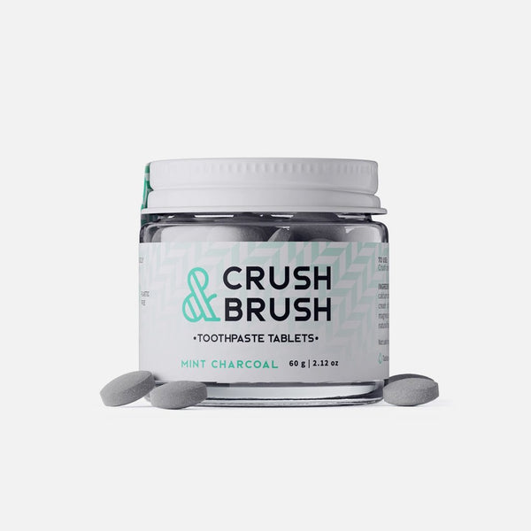 Crush&Brush - Mint Charcoal