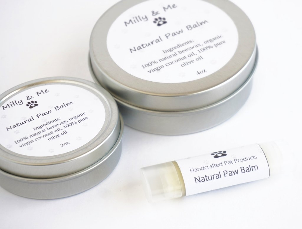 Milly and Me: Natural Paw Balm
