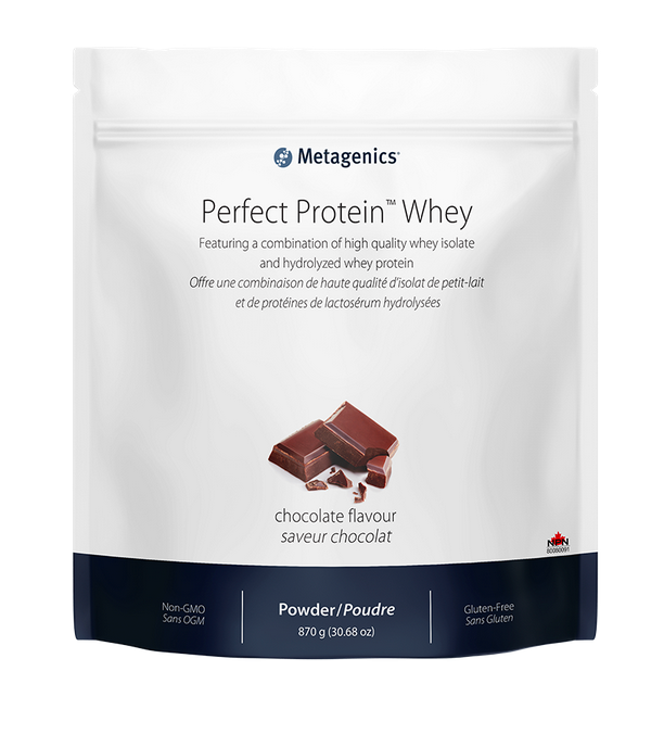 Perfect Protein Whey (Chocolate), 870g, Metagenics