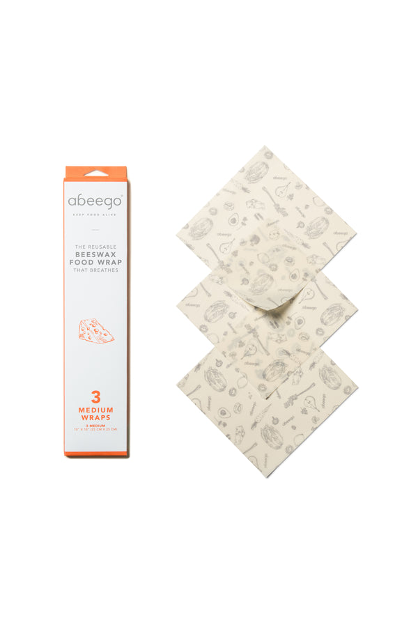 Abeego Medium Wrap (3 Pack)