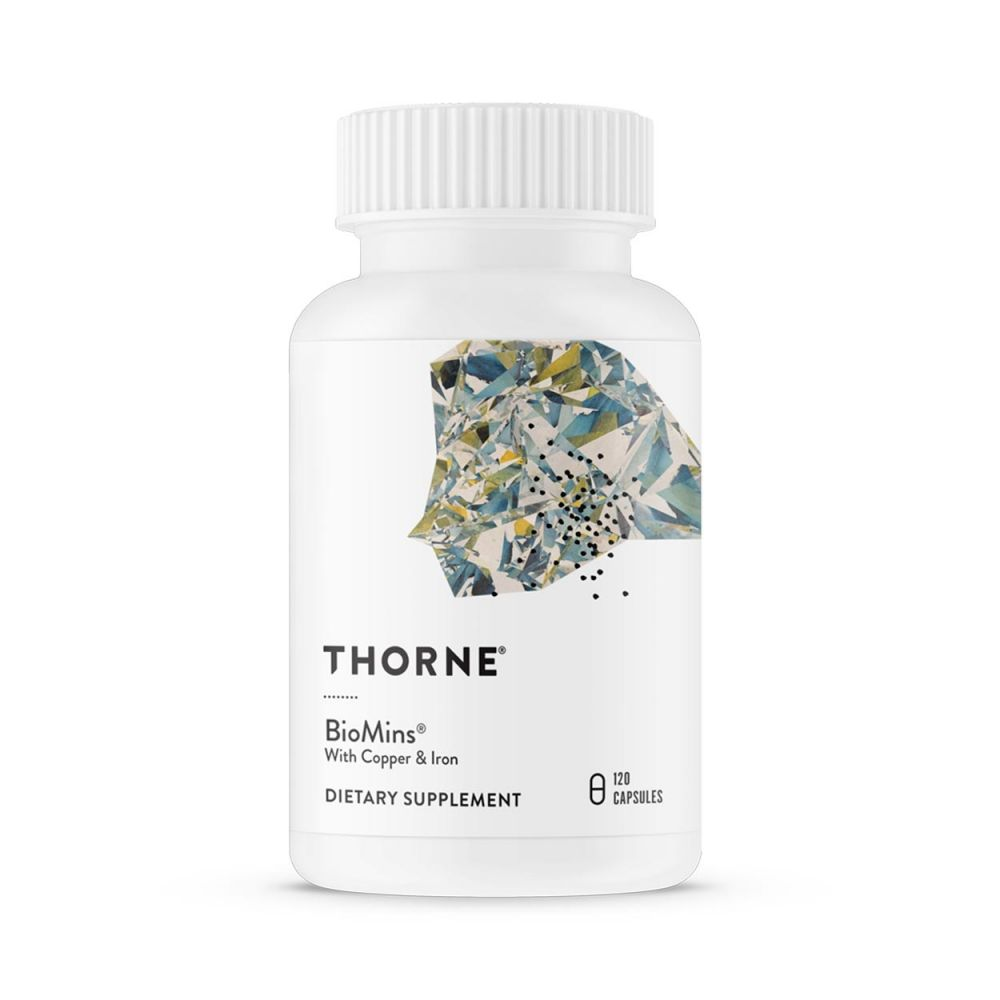 Biomins (with copper and iron) - 120 capsules