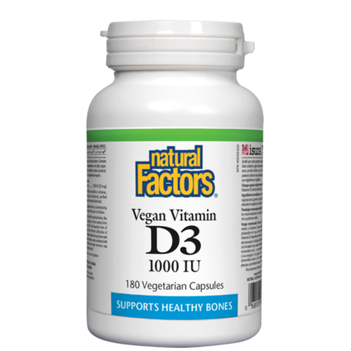Vitamin D3 - 180 softgels