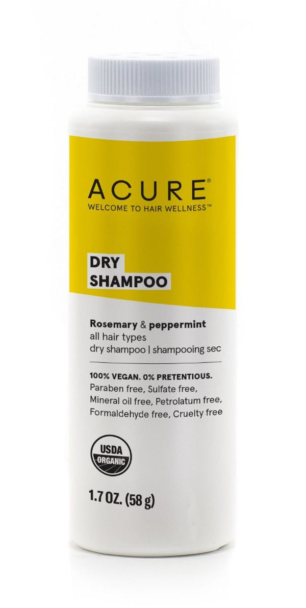 DRY SHAMPOO - ALL HAIR TYPES