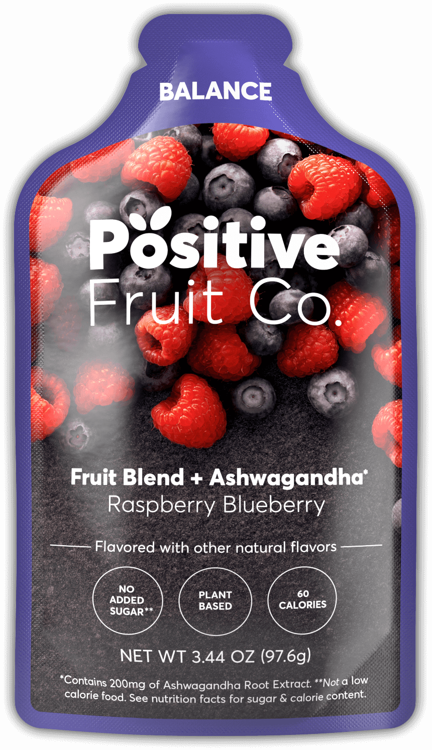 Positive Fruit Co package