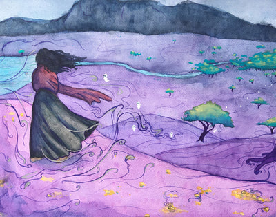 """Fae Winds"" Original Art - Silver Lily Studio"