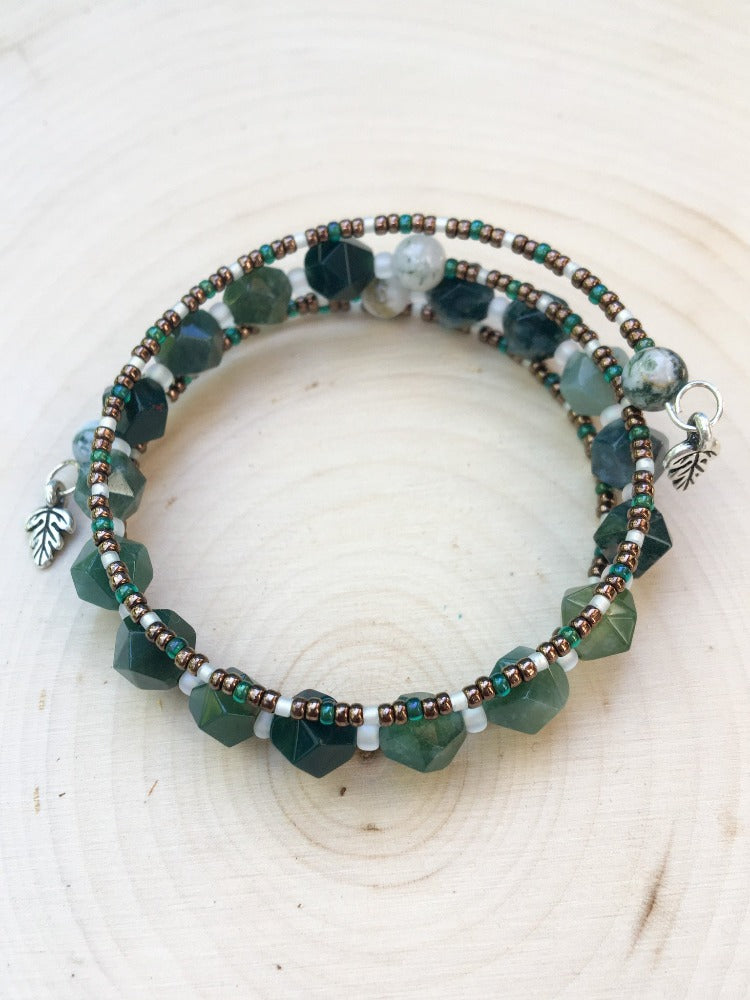 The Forest's Path Bracelet - Silver Lily Studio