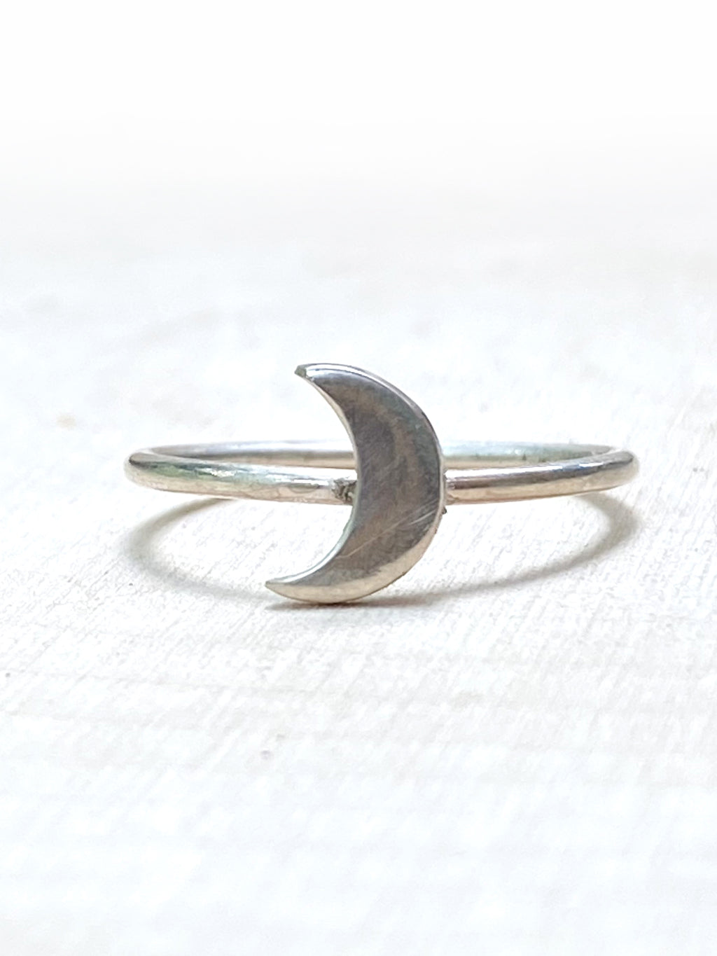 To the Moon and Back Ring - Silver Lily Studio