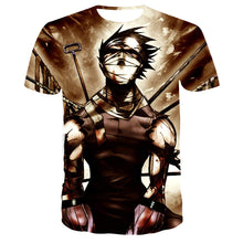 Load image into Gallery viewer, Naruto T Shirt Men Anime Tshirt Hip Hop Tee Streetwear Punk Rock Clothes Blue 3d T-shirt Casual Cool Mens Clothing 2019 New