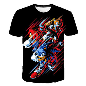 Men/Women 3D Cartoon Game Print T-shirts Costume Boys T Shirt Girls Summer T-shirt Kid Clothing Children Tee Tops Clothes