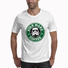 Load image into Gallery viewer, Men Women Plus Casual White Brand Clothing Star War Streetwear Tee Shirt Fashion T-shirts Letter Print Camisetas