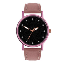 Load image into Gallery viewer, women watches top brand luxury quartz watches fashion women wristwatches leather waterproof rose gold geneva bracelet watch z70