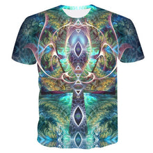 Load image into Gallery viewer, HOWL LOFTY 2019 T-Shirt psychedelic 3d Print t shirt Women Men Fashion Clothing Tops Outfits Tees Summer Style Plus Size 4XL