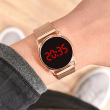 Load image into Gallery viewer, 2020 Men Sport Digital Watches Men's Army Military Women Watches LED Ladies watch Rose Gold Electronic Watches reloj mujer