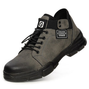 Male Safety Indestructible Shoes Steel Toe Work Safety Boot Work Sneakers Men Shoes Puncture Proof Safety Shoes Boots Men 39 S