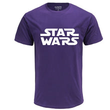 Load image into Gallery viewer, men women plus casual white brand clothing star war 2020 new streetwear tee shirt fashion black t-shirts letter print camisetas