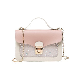 Women Messenger bags Mini Small Square Pack ladies Chain Strap Flap  Shoulder Bag Girls Crossbody Bag Clutch Wallet Handbags