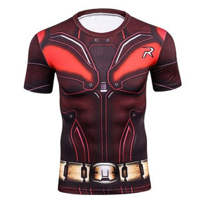 3D Summer T Shirt Men New Superhero Ironman Short Sleeve Men Tshirt Quick Dry Fitness Clothing Compression T-Shirt Men Tops&Tees