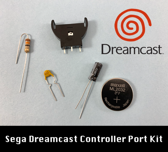 Sega Dreamcast Controller Port Kit with Battery Upgrade