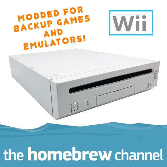 Modded Nintendo Wii Console
