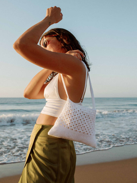 BOLSO MINI - ALBARICOQUE BLANCO