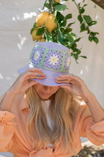 Load image into Gallery viewer, BUCKET HAT MANUELA - LILAC