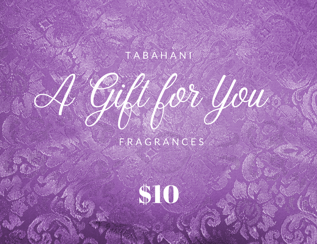 Tabahani Fragrances Gift Card