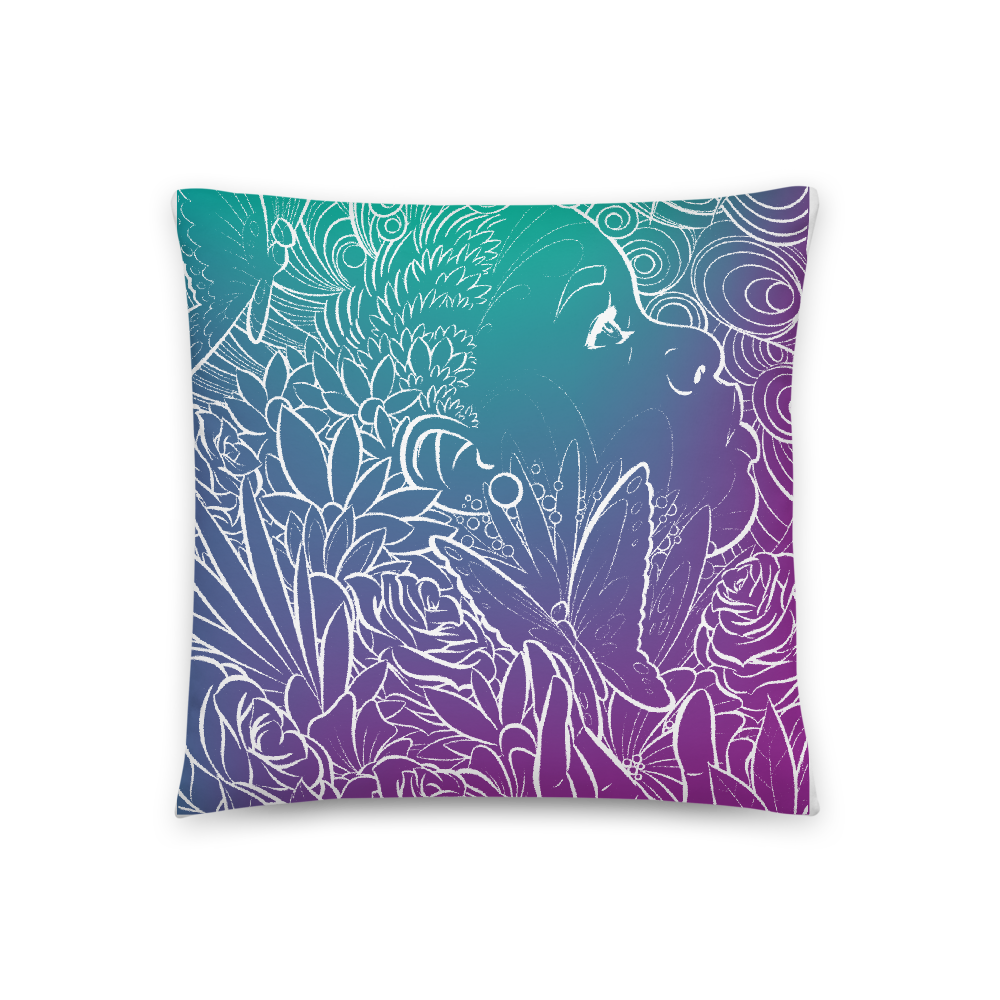 Peace & Purpose Throw Pillow