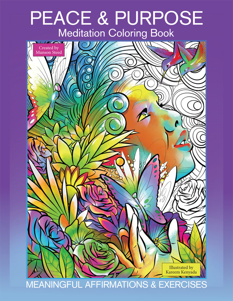 Peace & Purpose Meditation Coloring Book