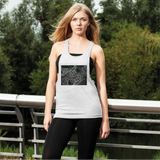 Sacred Crystal Collection Women's Loose Racerback Tank Top - seed