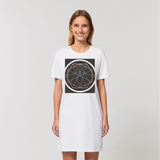 Sacred Geometry Series Organic T-Shirt Dress - seed