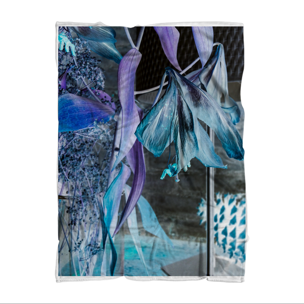 Opal Iris Sublimation Throw Blanket - seed