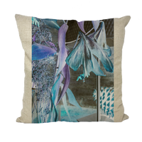 Opal Iris Throw Pillows - seed