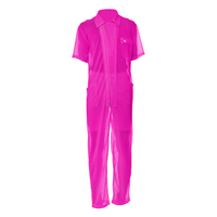 Neon Pink | Mesh Suit - seed