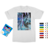 Opal Iris Colouring T-Shirt - seed