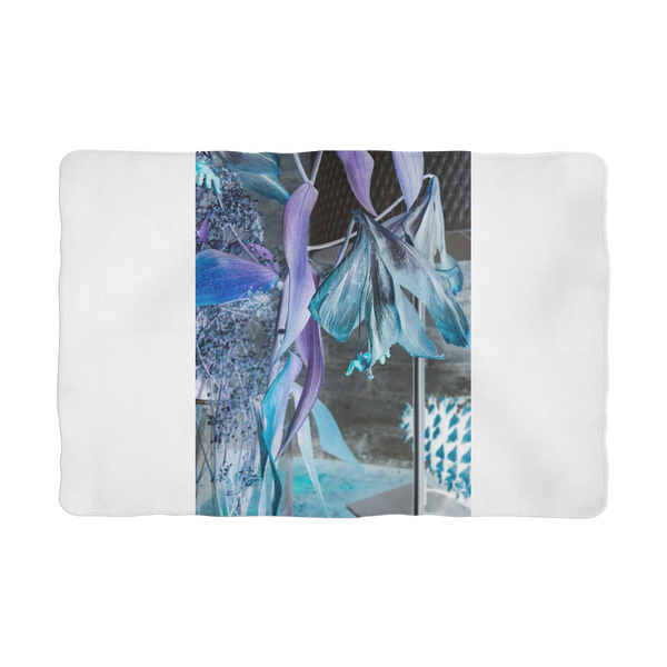 Opal Iris Sublimation Pet Blanket - seed