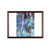 Opal Iris Sublimation Wall Plaque - seed