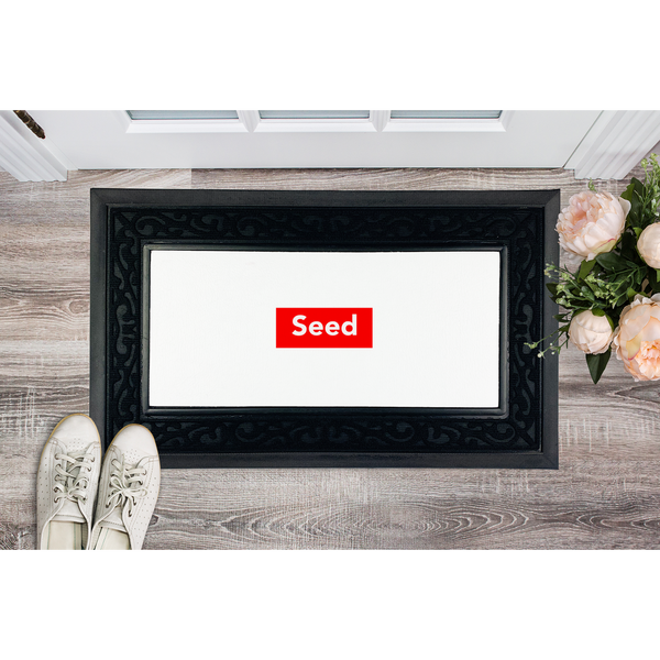 seed Sublimation Heavy Duty Door Mat - seed