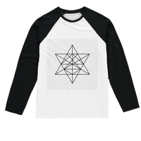 Tetrahedron Series Sublimation Baseball Long Sleeve T-Shirt - seed