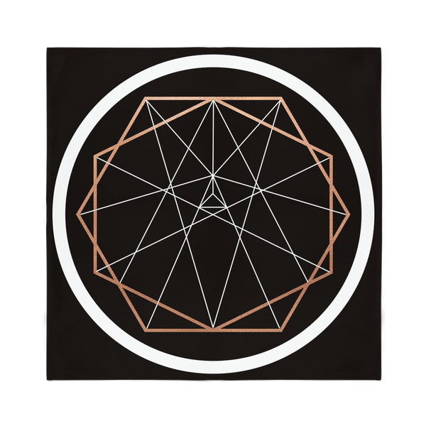 Sacred Geometry Series Sublimation Bandana - seed