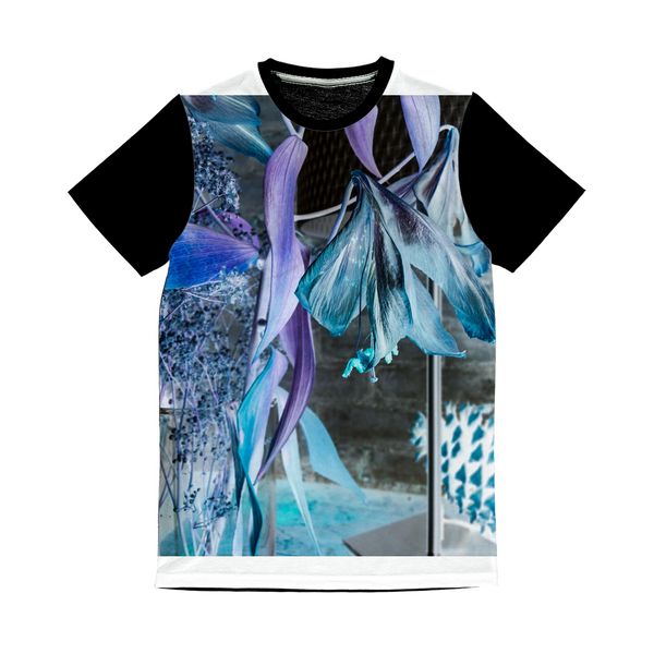 Opal Iris Classic Sublimation Panel T-Shirt - seed