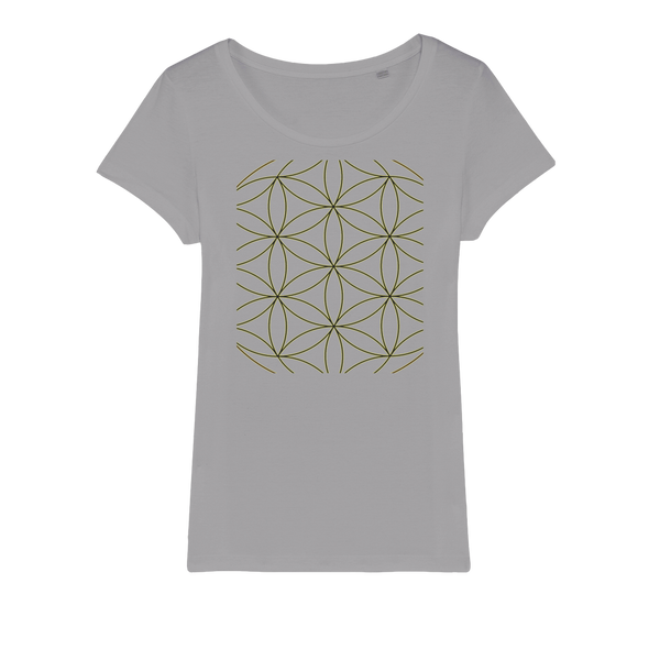 Sacred Perception Series Organic Jersey Womens T-Shirt - seed