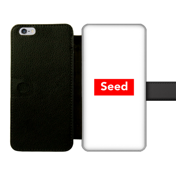 seed Front Printed Wallet Cases - seed