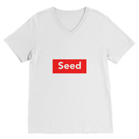 seed Premium V-Neck T-Shirt - seed