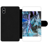 Opal Iris Front Printed Wallet Cases - seed