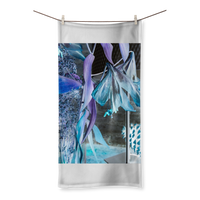 Opal Iris Sublimation All Over Towel - seed